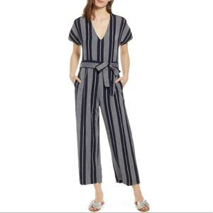 Rails | Angela Wide Jumpsuit Mediterranean Stripe